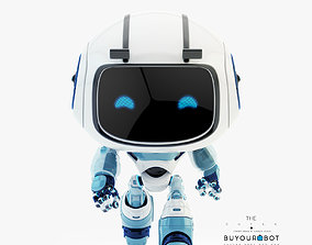 Lovely robot - friendly toy companion 3D model