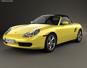 3D Porsche Boxster 986 1996
