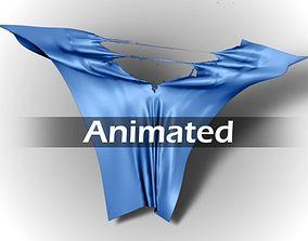 3D Torn Cloth