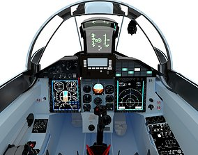 3D asset MiG-29SMT Cockpit
