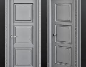 room realtime Interior Doors low poly 3d model