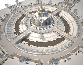 Temple temple 3D