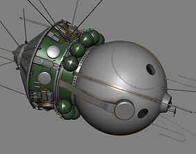 3D Spaceship Vostok 1