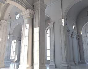 3D model Classic Interior Scene