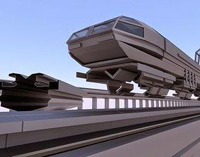 3D asset Superconductor Train