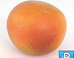 Photorealistic Grapefruit Orange 3D model