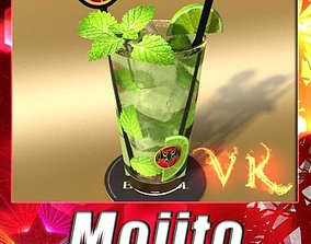 3D model Mojito Cocktail High Detail