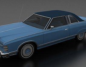3D model LTD Landau 2dr 1975