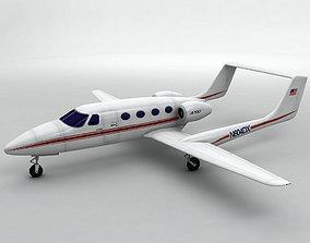 Adam A-700 Aircraft 3D asset