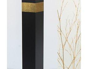 3D Eurich Slender Floor Vase with Branches Arrangement