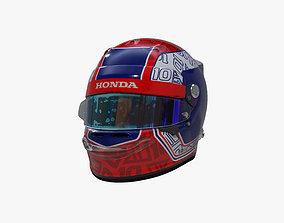 3D asset Gasly helmet 2020
