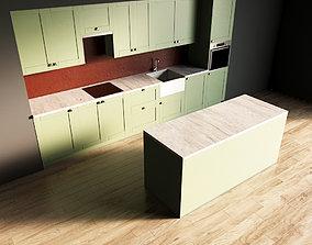 3D model 10-Kitchen10 matte 1
