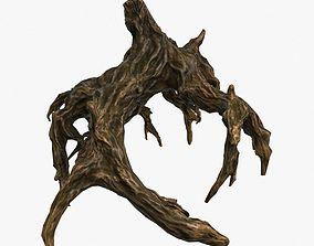wood snag 3D asset