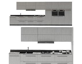 Kitchen Poliform Furniture checkerboard 3D