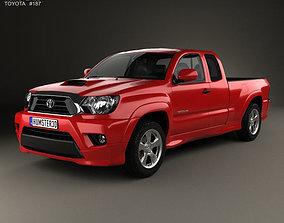 3D model Toyota Tacoma X-Runner 2012
