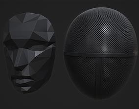 3D print model Squid Game Masks