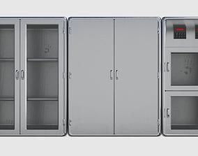 3D asset Metal Cabinet Pack