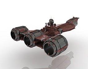 3D Spaceship Cruiser