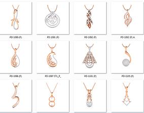 collection 100 Pendant 3dm jcd render details brilliant