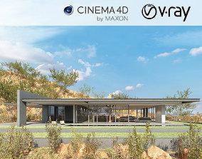 VRay - C4D scene files - House Jireh 3D
