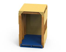 3D model Carate Box