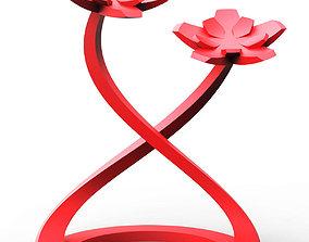 Flower Figure 3D printable model