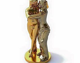 3D STL statuette lovers