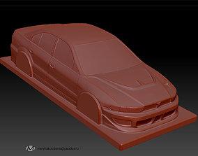 3D print model mitsubishi