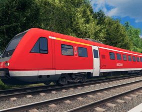 Deutsche Bahn BR 612 3D model