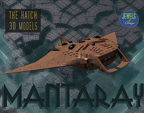 3D model Fantasy Manta sub