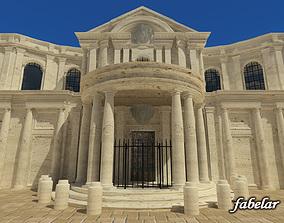 3D model S Maria della Pace