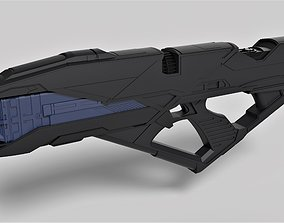Vengeance Rifle from the movie Star Trek 3D print model 2