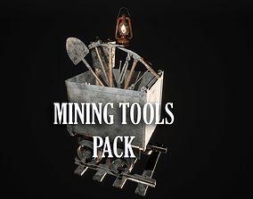 Mining Tools 3D asset