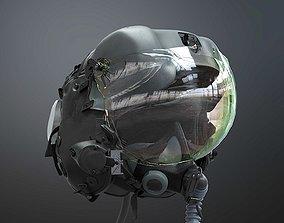 3D model FLIGHT SUIT F35 Helmet
