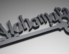 Harry Potter Spell Key Holder 3D print model