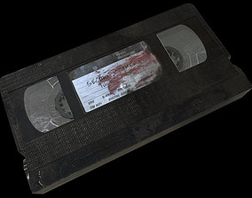 low-poly VHS Cassette