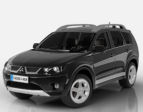 Mitsubishi Outlander 2008 3D model