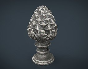 3D model Concrete pinecone ornaments