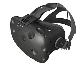 HTC vive 3D model headset