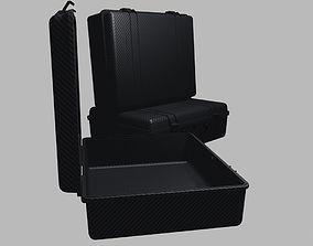 3D model Hard travel case or flight case carbon