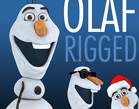 3D asset OLAF snowman