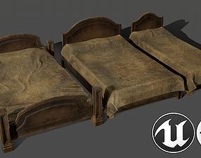 Beds Kit 3D model