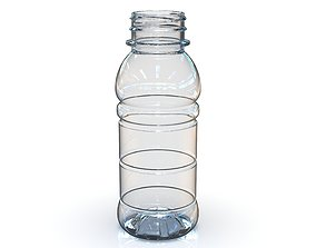 3D PET Bottle PCF - 38P - 1 - Round 250 mL - for water -
