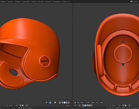 Batting helmet 3D printable model