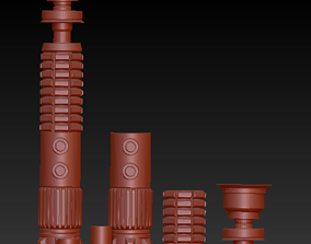 OBI WAN Saber 3D print model