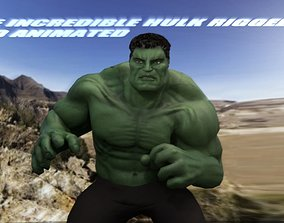 3D asset Hulk 2003 Inspired Rigged and animated