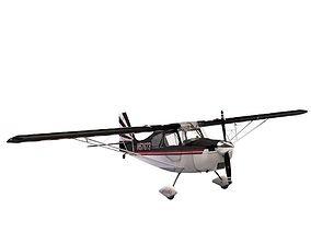 Bellanca Super Decathalon airshow 3D model