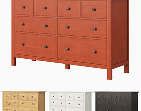 IKEA HEMNES 8-drawer dresser 3D model