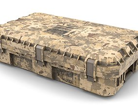 Military Case for Weapons 3D model