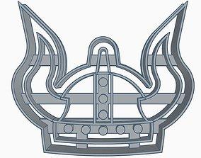 3D printable model Viking Helmet Cooki Cutter